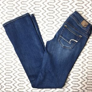American Eagle Super Stretch Bootcut Jeans 4Long